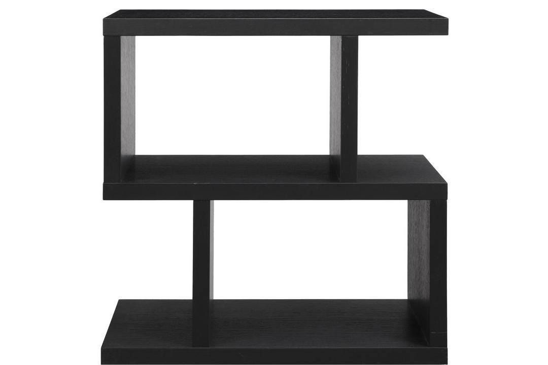 Balance Side Table Charcoal Finish