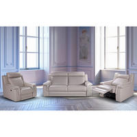 Bellagio Three-Seater Split Sofa Beige