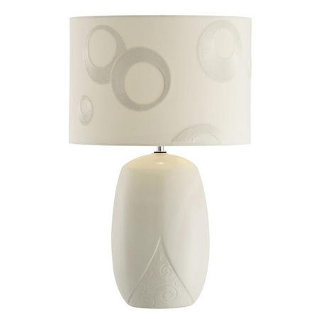 Living Swirl Lamp & Shade