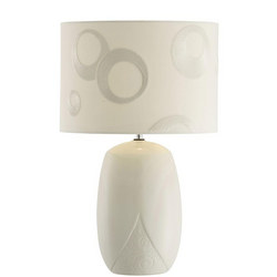 Living Swirl Lamp & Shade