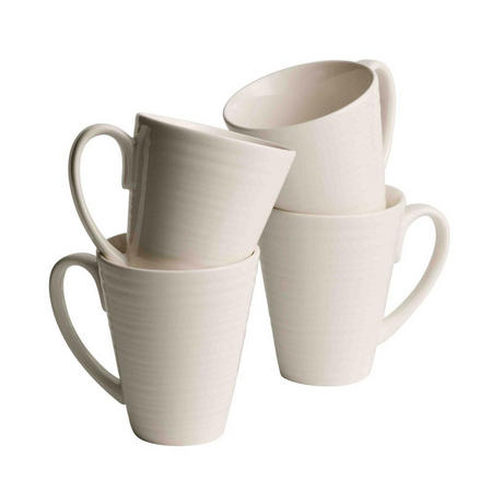 Living Ripple 4 Mugs Set