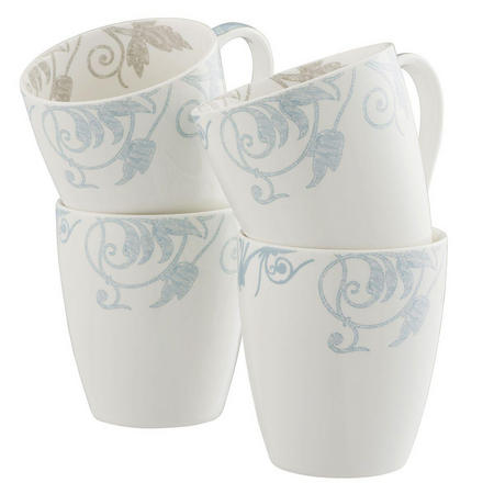 Living Novello Set of 4 Mugs