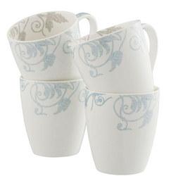 Living Novello Set of 4 Mugs