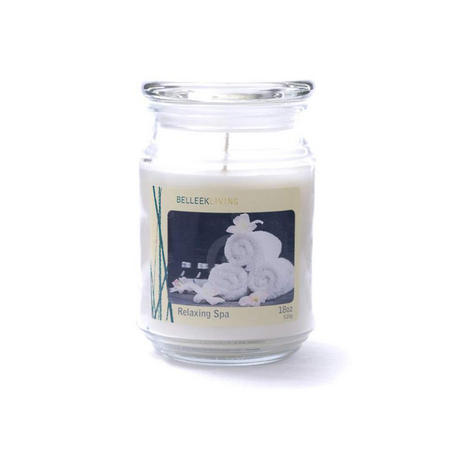 Living Relaxing Spa Candle Jar