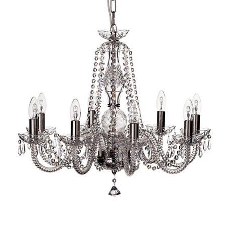 Crystal Living Leenane 8 Arm Chandelier
