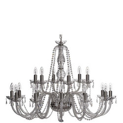 Crystal Living Leenane 18 Arm Chandelier