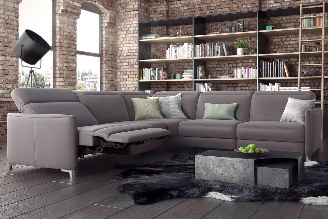 Bellona Sofa, Montana Moon, with Relax, Zen and Aladdin Functions
