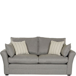 Berwick Sofa Coastal Chrome
