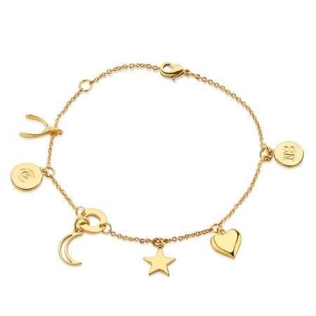 Amy Huberman Multi Charm Bracelet