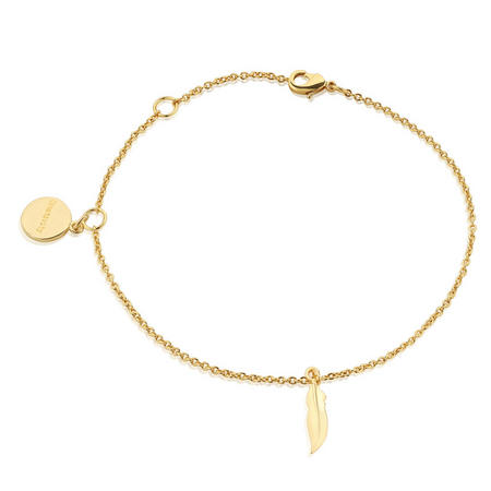 Amy Huberman Bracelet with Feather