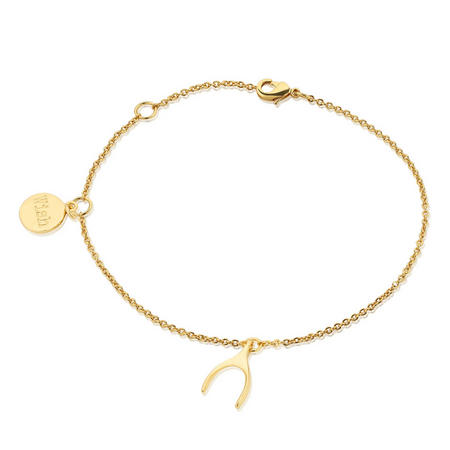 Amy Huberman Bracelet with Wishbone
