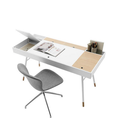 Cupertino Desk With Storage