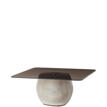Bilbao Coffe Table Glass And Concrete