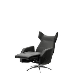 Harvard Swivel Chair With Electric Reclining And Footrest Motion