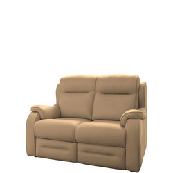 Boston 2 Seat Sofa Leather Como Taupe