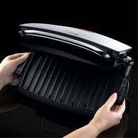 4-Portion Family Grill And Melt With Removable Plates