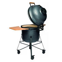 Ceramic BBQ & Oven Large Grey