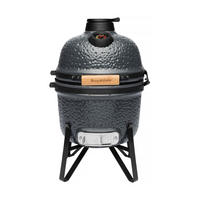 Ceramic BBQ & Oven Small Dark Grey