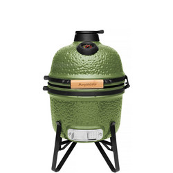 Ceramic BBQ & Oven Small Green