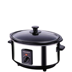 Slow Cooker Stainless Steel 6.5Ltr