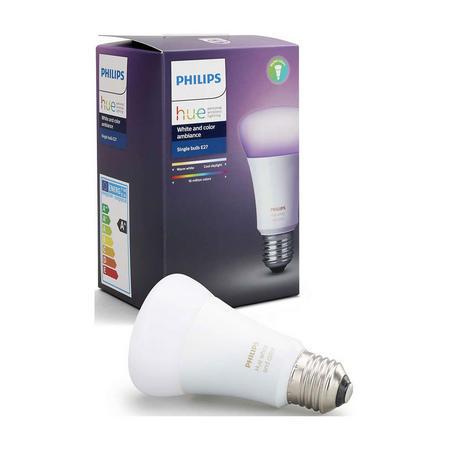 Hue White And Colour Ambiance E27 Single Lamp