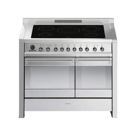 100Cm Stainless Steel Dual Cavity Induction Hob Pyrolitic Opera Range Cooker - A2PYID-8