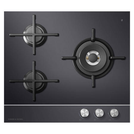 60cm Gas on Glass Cooktop - Natural Gas