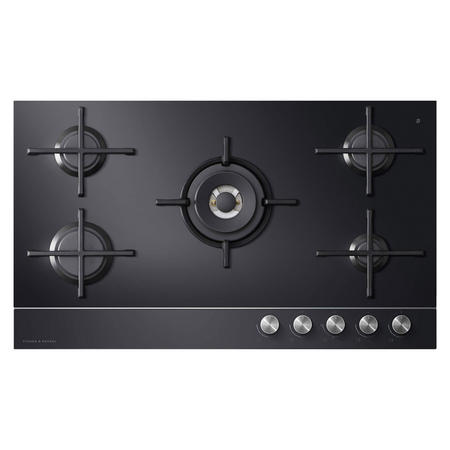 90cm Gas on Glass Cooktop - LPG