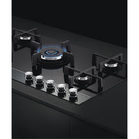 90cm Gas on Glass Cooktop - Natural Gas