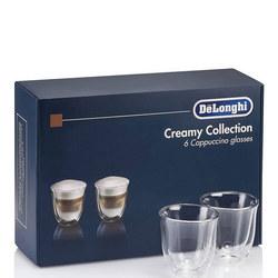 Creamy 6 Cappuccino Glasses