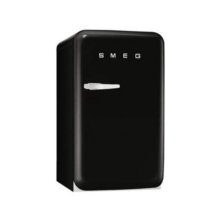 55Cm Black Small 50'S Style Rh Hinged Fridge With Icebox - FAB10RNE