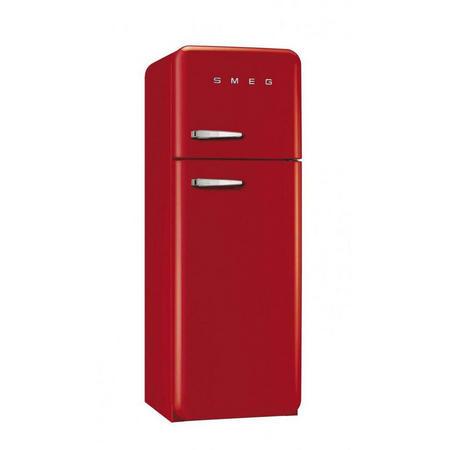 Red 50's RH Freezer Fridge