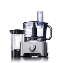 Food Processor Brushed Steel