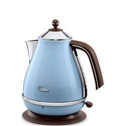 Icona Vintage Kettle 3kW Azure Blue