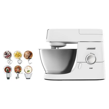 Chef Machine Bundle With Mincer, Glass Blender & Bowl