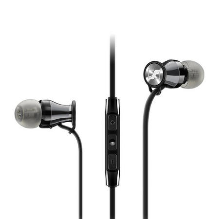 M2IEG Momentum In Ear Headphones for Samsung Galaxy Black