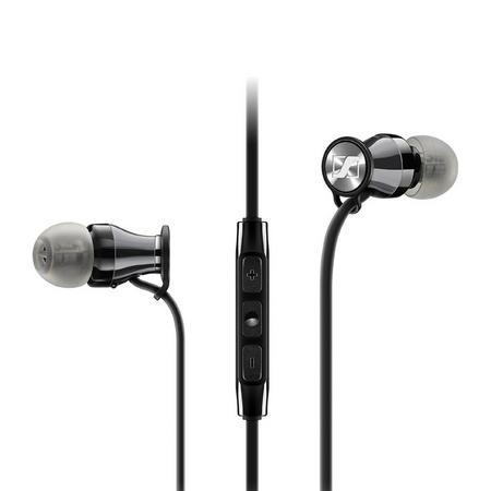 M2IEi Momentum In Ear Headphones for Apple iPhone Black