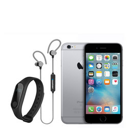iPhone 6S 32Gb  Bluetooth Headphones And Fitness Tracker