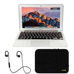 MacBook Air with Headphones and Laptop Sleeve Bundle