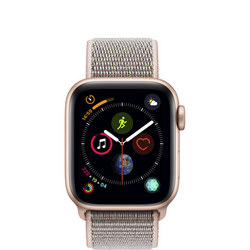 AppleWatch Series4 GPS, 40mm Gold Aluminium Case with Pink Sand Sport Loop