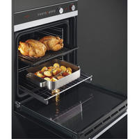 60cm Single 9 Function Pyrolytic Built-in Oven - 72L