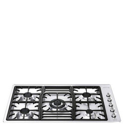 90Cm Stainless Steel Classic 5 Burner Ultra Low Profile Gas Hob
