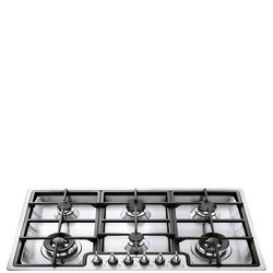 90Cm Stainless Steel Classic 6 Burner Ultra Low Profile Gas Hob