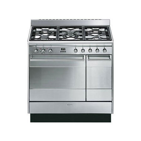 90CM Concert Cooker with Double Oven and Gas hob