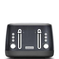 Mesmerine 4 Slot Toaster Stardust Black