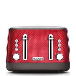 Mesmerine 4 Slot Toaster Deep Red