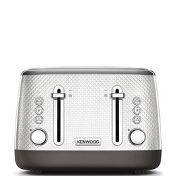 Mesmerine 4 Slot Toaster Pure White