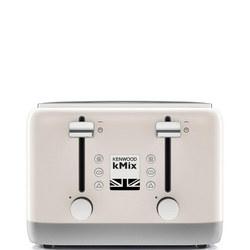 kMix 4 Slot Toaster Cream