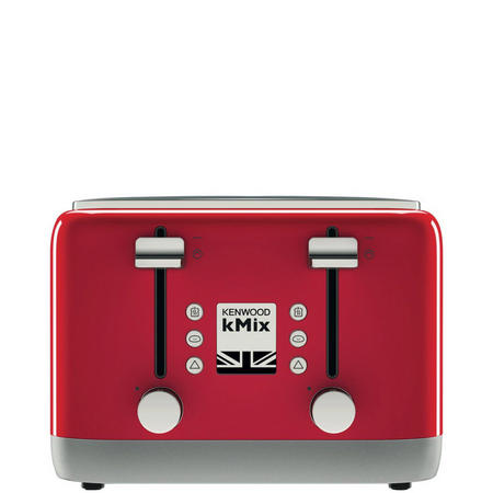 kMix 4 Slot Toaster Red