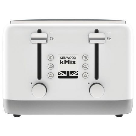 kMix 4 Slot Toaster White